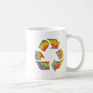 Recicle - el teñido anudado II Taza De Café