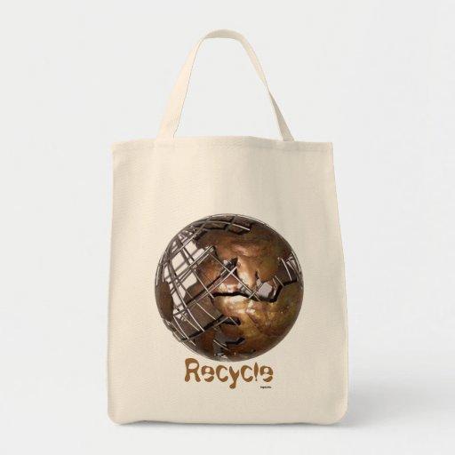 Recicle el ultramarinos bolsa