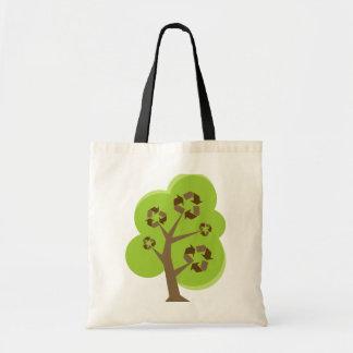 Recicle el verde del árbol