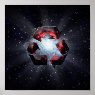 Recicle (espacio) póster