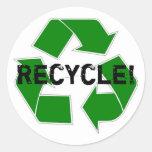 ¡Recicle! Etiqueta