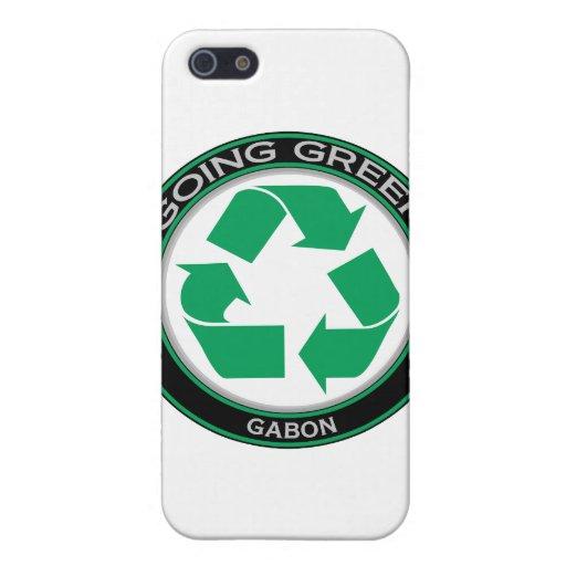 Recicle Gabón iPhone 5 Carcasa