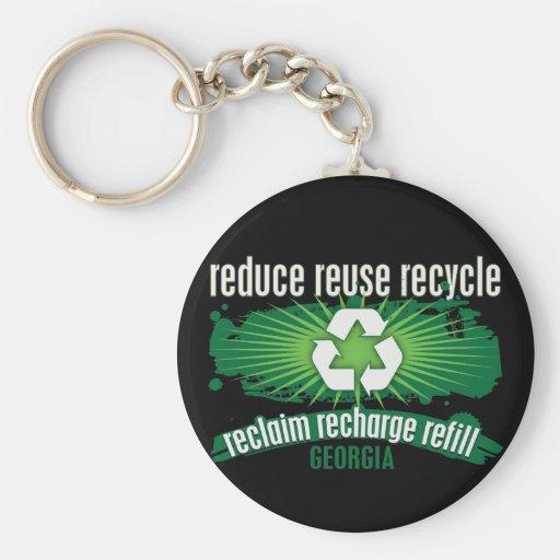 Recicle Georgia Llaveros Personalizados