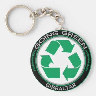 Recicle Gibraltar Llavero Personalizado