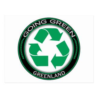 Recicle Groenlandia Tarjetas Postales