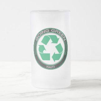 Recicle Haití Jarra De Cerveza Esmerilada