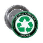 Recicle Hungría Pins