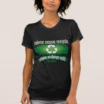 Recicle Illinois Camisetas