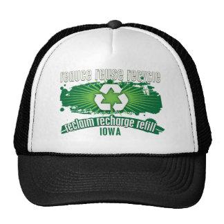 Recicle Iowa Gorro