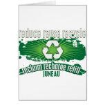 Recicle Juneau Tarjetas