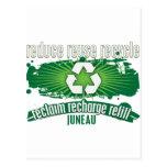 Recicle Juneau Tarjetas Postales
