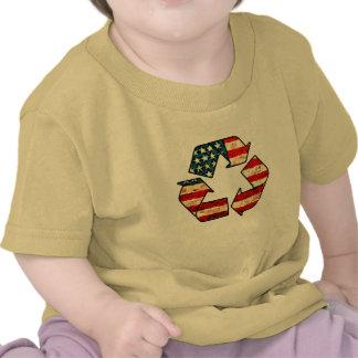Recicle la camisa del bebé de América