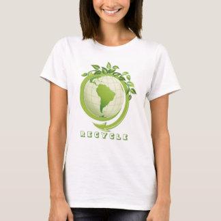 Recicle la camiseta de las preocupaciones