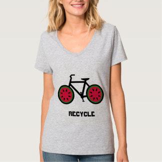 Recicle la camiseta del bycycle
