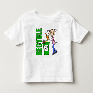 Recicle la camiseta del niño