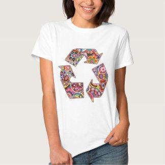 Recicle la camiseta playeras
