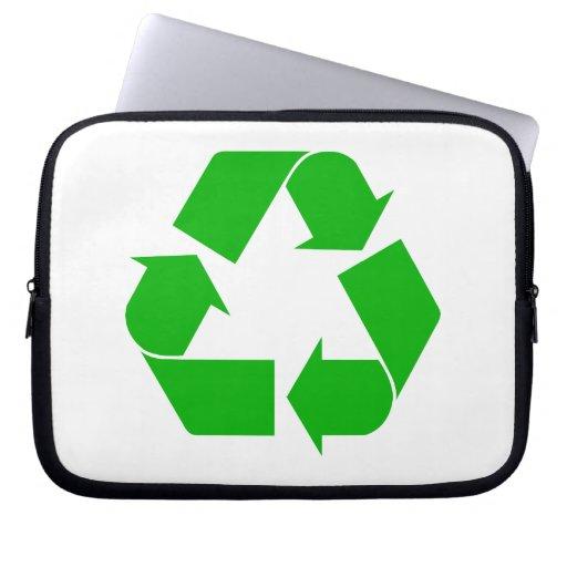 Recicle la manga del ordenador portátil fundas computadoras