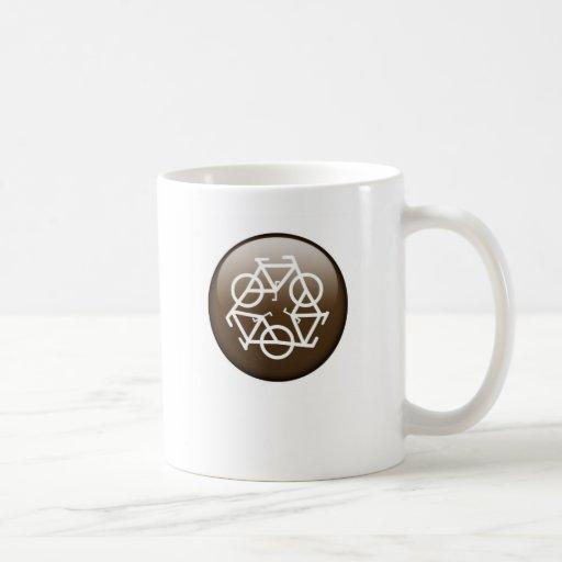 recicle la taza de cerámica marrón de Petr