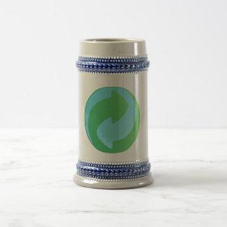 Recicle la taza de Stein del agua