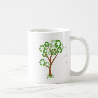 Recicle la taza del árbol