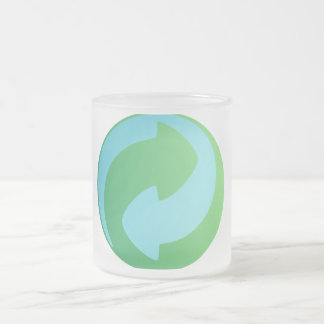 Recicle la taza helada agua