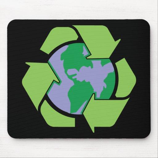 Recicle la tierra mouse pad