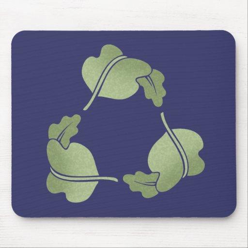 Recicle - las hojas tapete de raton