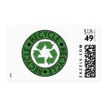 Recicle las letras verdes del logotipo BK
