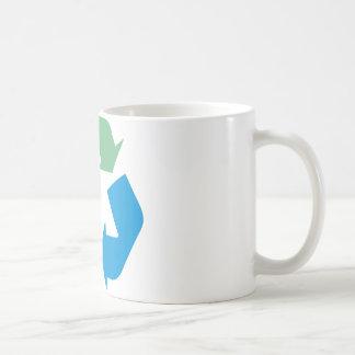 ¡Recicle los productos y los diseños! Taza Clásica