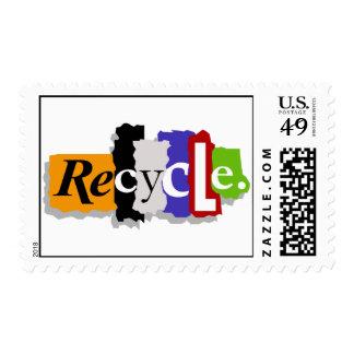 Recicle los sellos