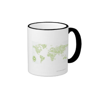 Recicle los símbolos usados para crear el planeta taza