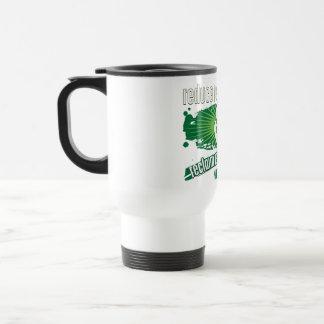 Recicle Montana Taza De Viaje De Acero Inoxidable