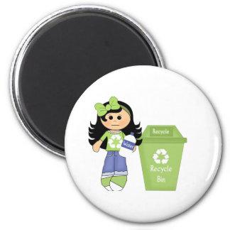 Recicle por favor iman
