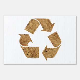Recicle, reciclando la muestra señal