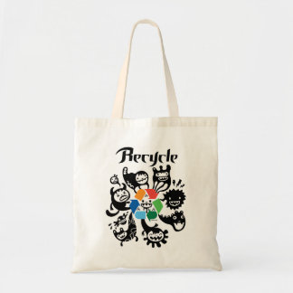 Recicle - recicle el bolso bolsa tela barata