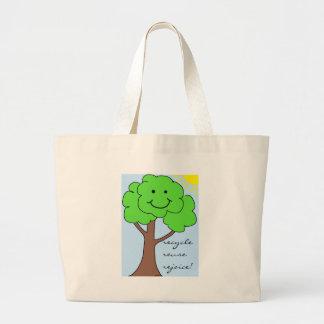Recicle reutilice disfrute el bolso bolsa