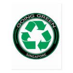 Recicle Singapur Postales