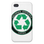 Recicle Suecia iPhone 4 Carcasa
