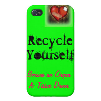 Recicle sus piezas iPhone 4 carcasa