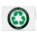 Recicle Taiwán Felicitación