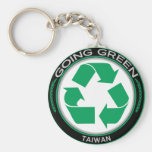 Recicle Taiwán Llavero Personalizado