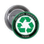 Recicle Taiwán Pin