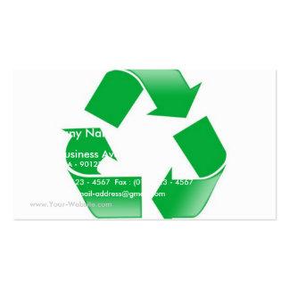 Recicle Tarjetas De Visita