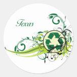 Recicle Tejas Pegatinas