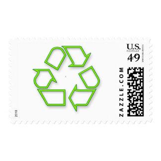 recicle timbre postal