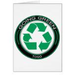 Recicle Togo Tarjetas