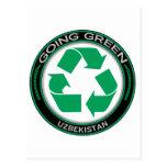 Recicle Uzbekistán Postal