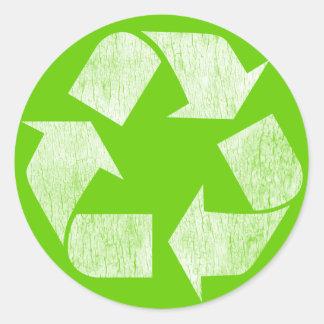 Recicle - va el verde etiqueta