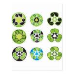 recicle van verde postales