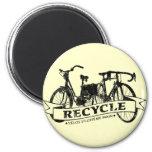 Recicle Velos ReBicycle Imanes De Nevera